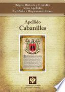 libro Apellido Cabanilles