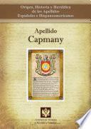 libro Apellido Capmany
