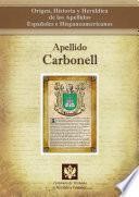 libro Apellido Carbonell