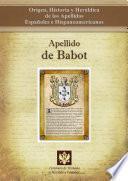 libro Apellido De Babot