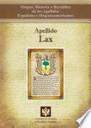 libro Apellido Lax
