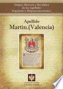 libro Apellido Martín.(valencia)