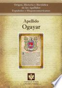 libro Apellido Ogayar