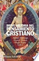libro Breve Historia Del Pensamiento Cristiano