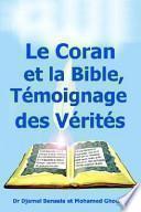 libro Le Coran Et La Bible