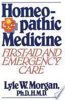 libro Homeopathic Medicine