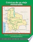 libro Crónicas De Un Viaje Memorable